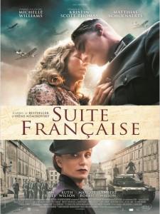 Suite Française - Go with the Blog - Affiche du film