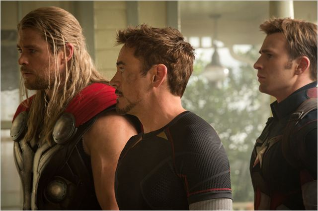 AVENGERS AGE OF ULTRON - image des personnages Thor Iron Man Captain America - Go with the Blog