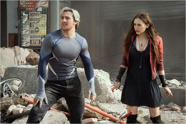 AVENGERS AGE OF ULTRON - image du film Quicksilver Scarlet Witch 2015 - Go with the Blog