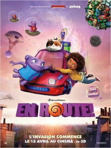 EN ROUTE - affiche FRANCE Définitive Dreamworks - Go with the Blog
