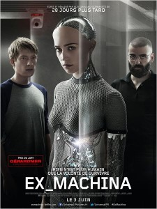 EX_MACHINA - Affiche FR du film Alex Garland - Go with the Blog