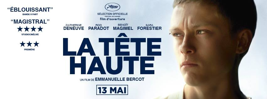 LA TÊTE HAUTE - Bandeau Large Festival Cannes 2015 Emmanuelle Bercot - copyright Go with the Blog