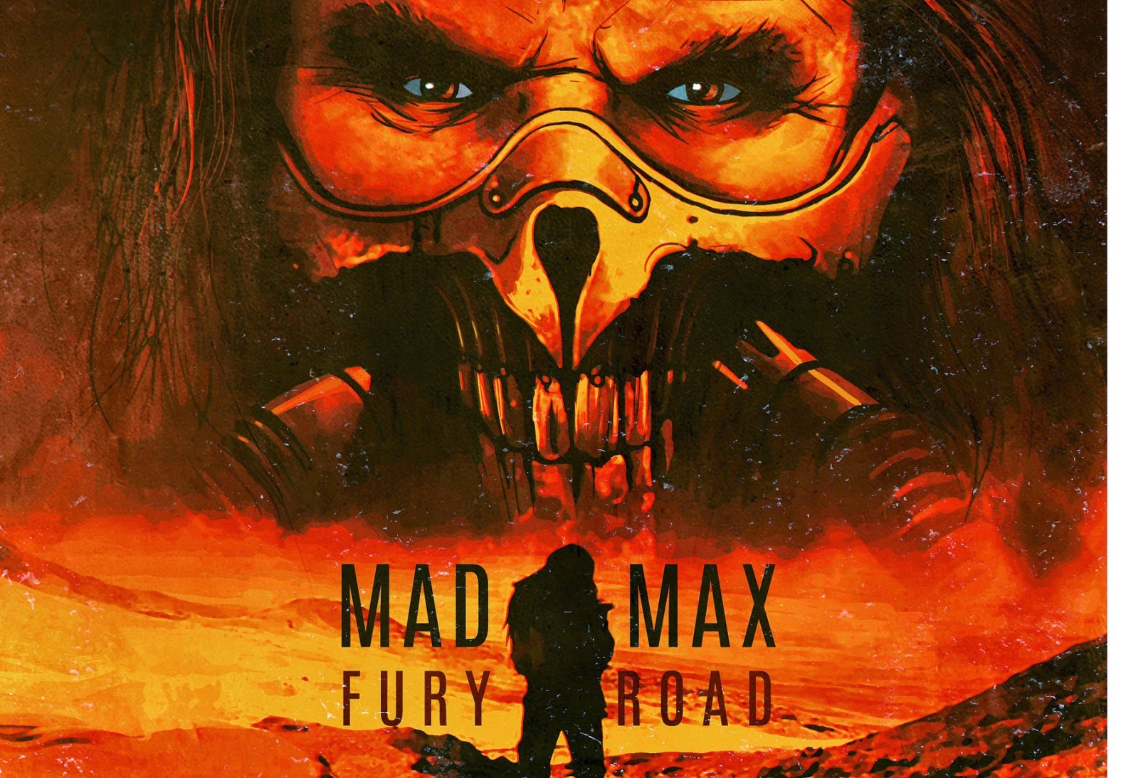 MAD MAX FURY ROAD - Visuel Large image du film 8 George Miller 2015 - Go with the Blog