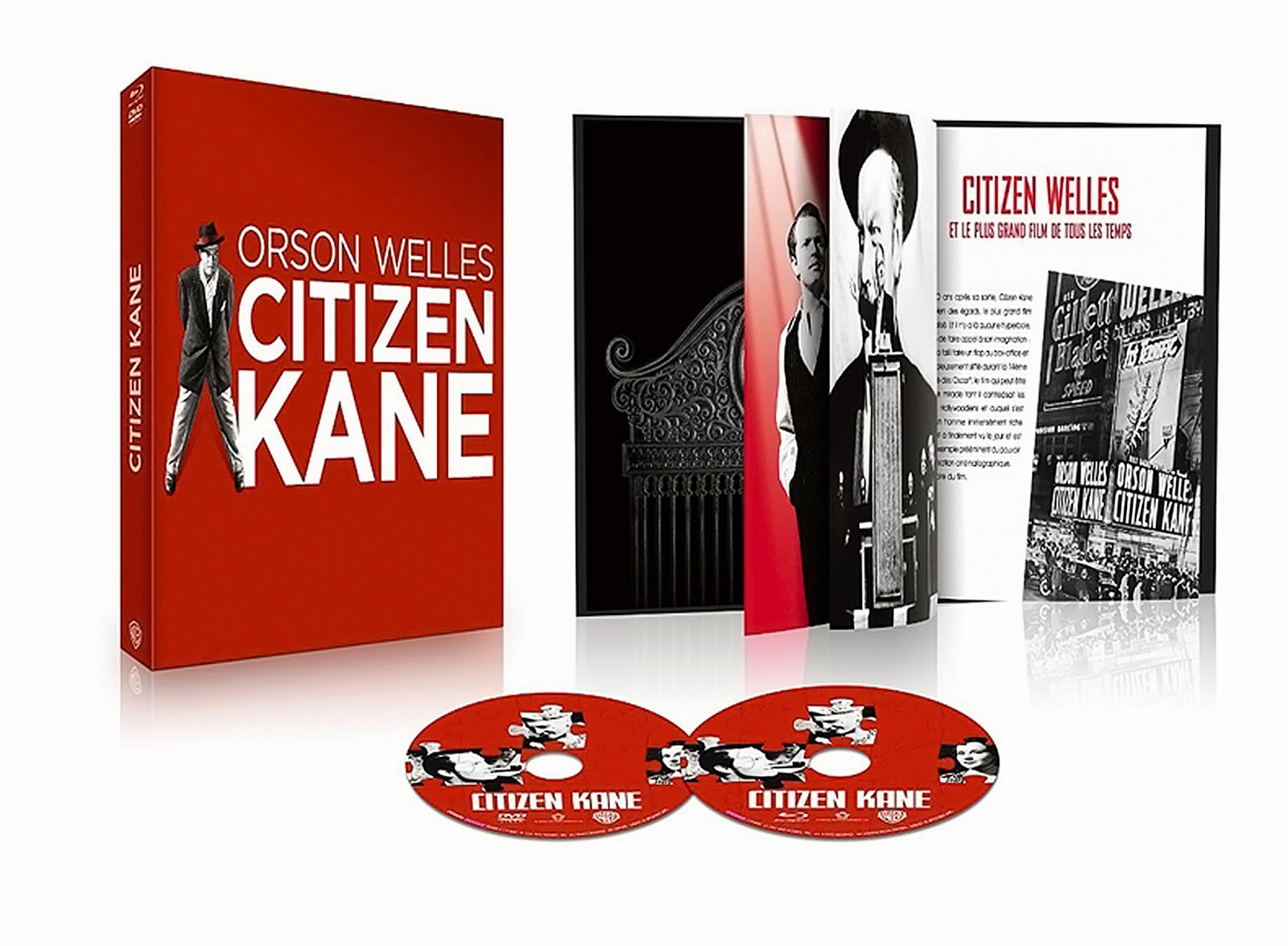 TCM Cinéma - Visuel Concours 4 CITIZEN KANE Cycle Orson Welles - Go with the Blog