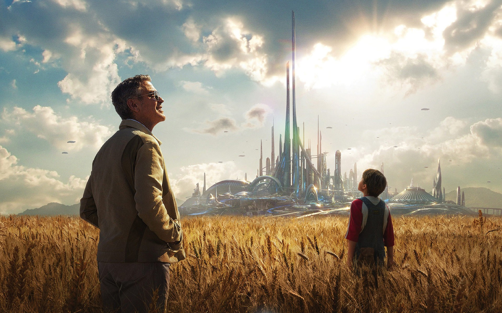 TOMORROWLAND A LA POURSUITE DE DEMAIN - Image 6 du film Disney George Clooney - Go with the Blog