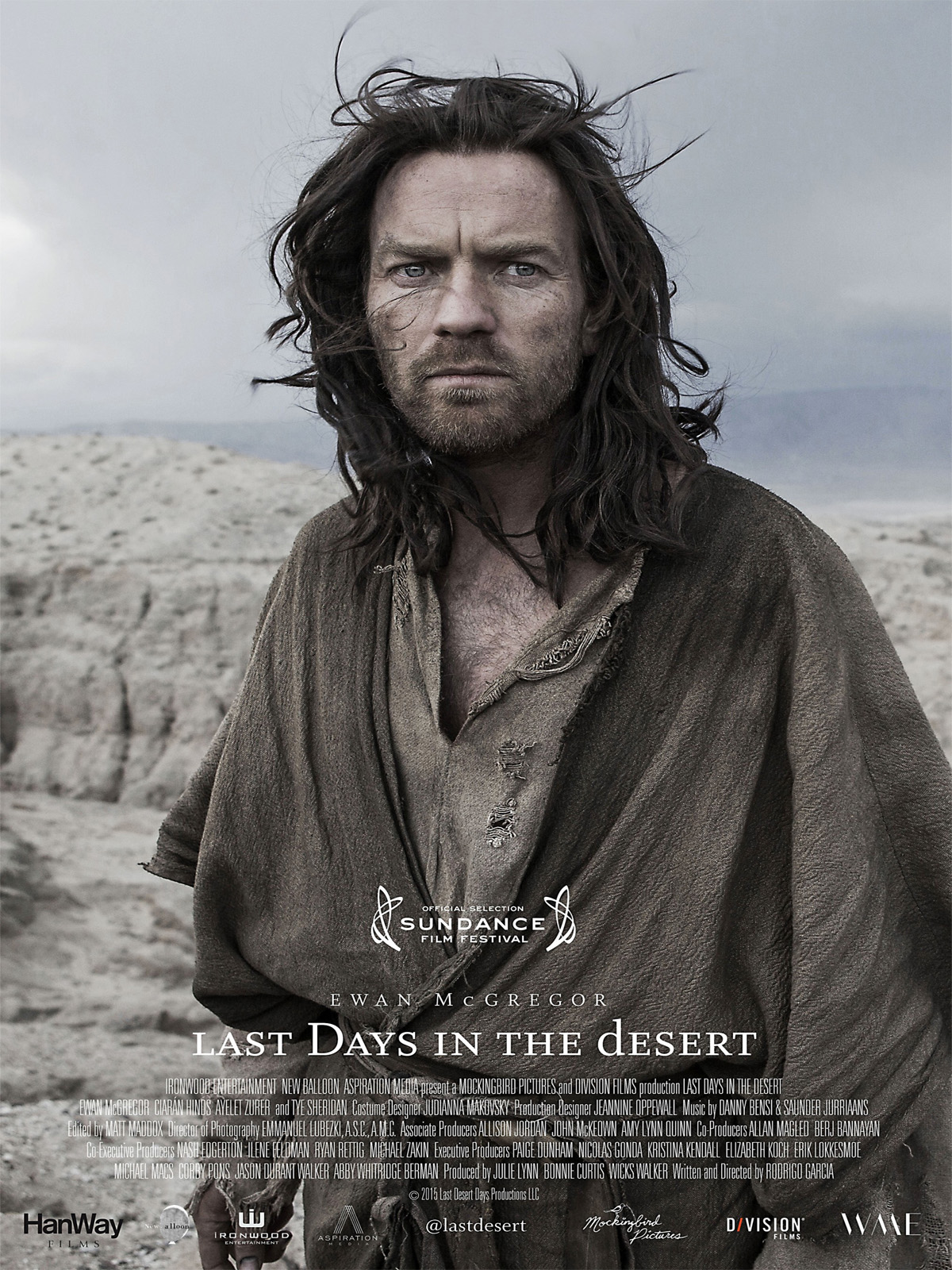 LAST DAYS IN THE DESERT - affiche du film Ewan McGregor Sundance Festival 2015 - Go with the Blog