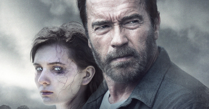 MAGGIE - film Arnold Schwarzenegger Affiche FRANCE - Go with the Blog