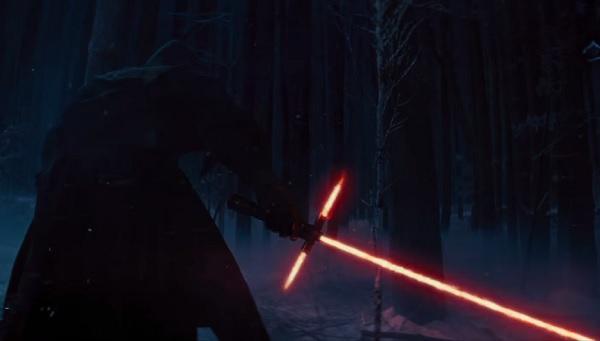 STAR WARS VII - lightsaber crossguard from teaser trailer - Go with the Blog