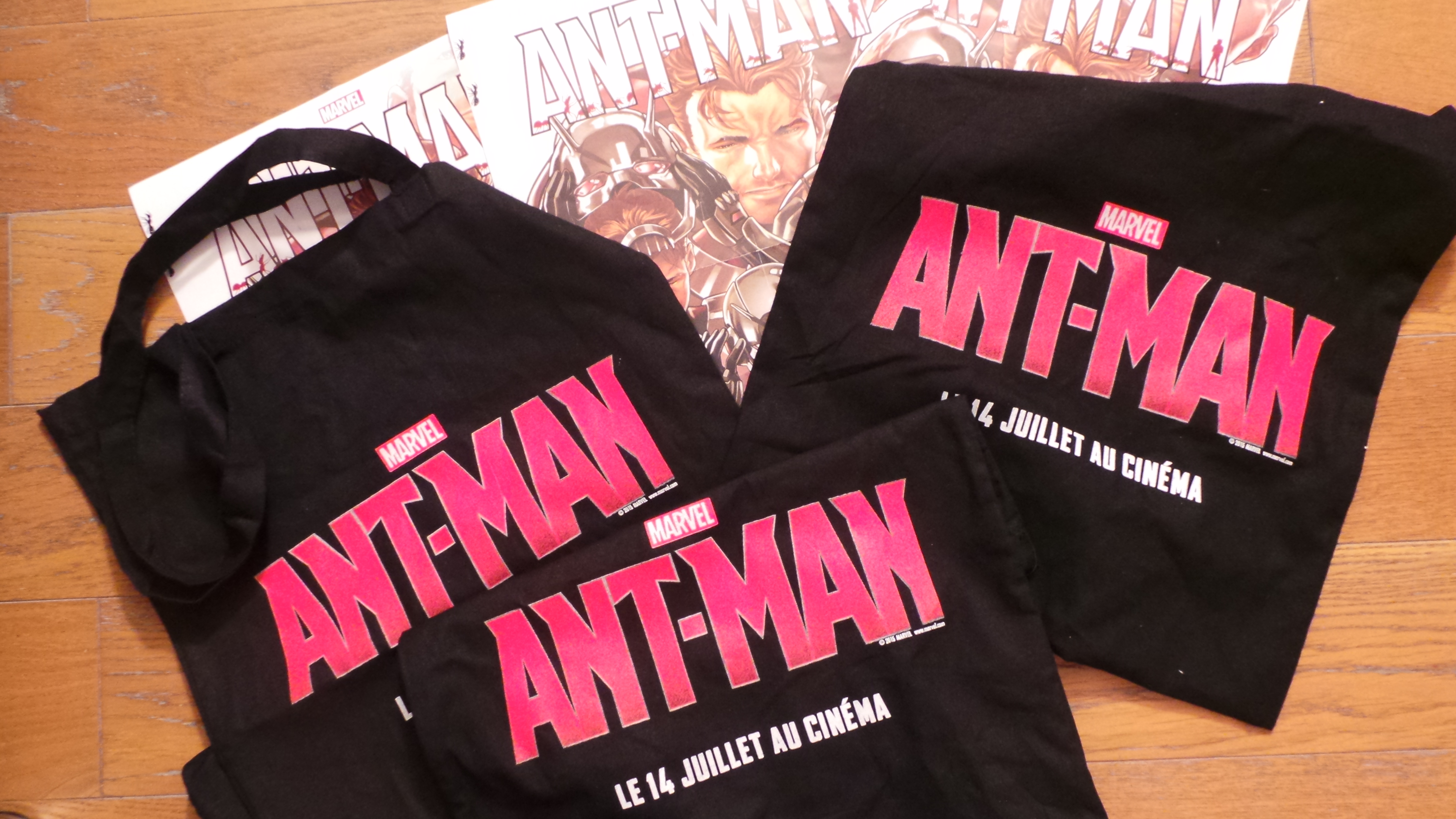 ANT-MAN - Visuel Concours tote bag affiches à gagner 3 - copyright Go with the Blog