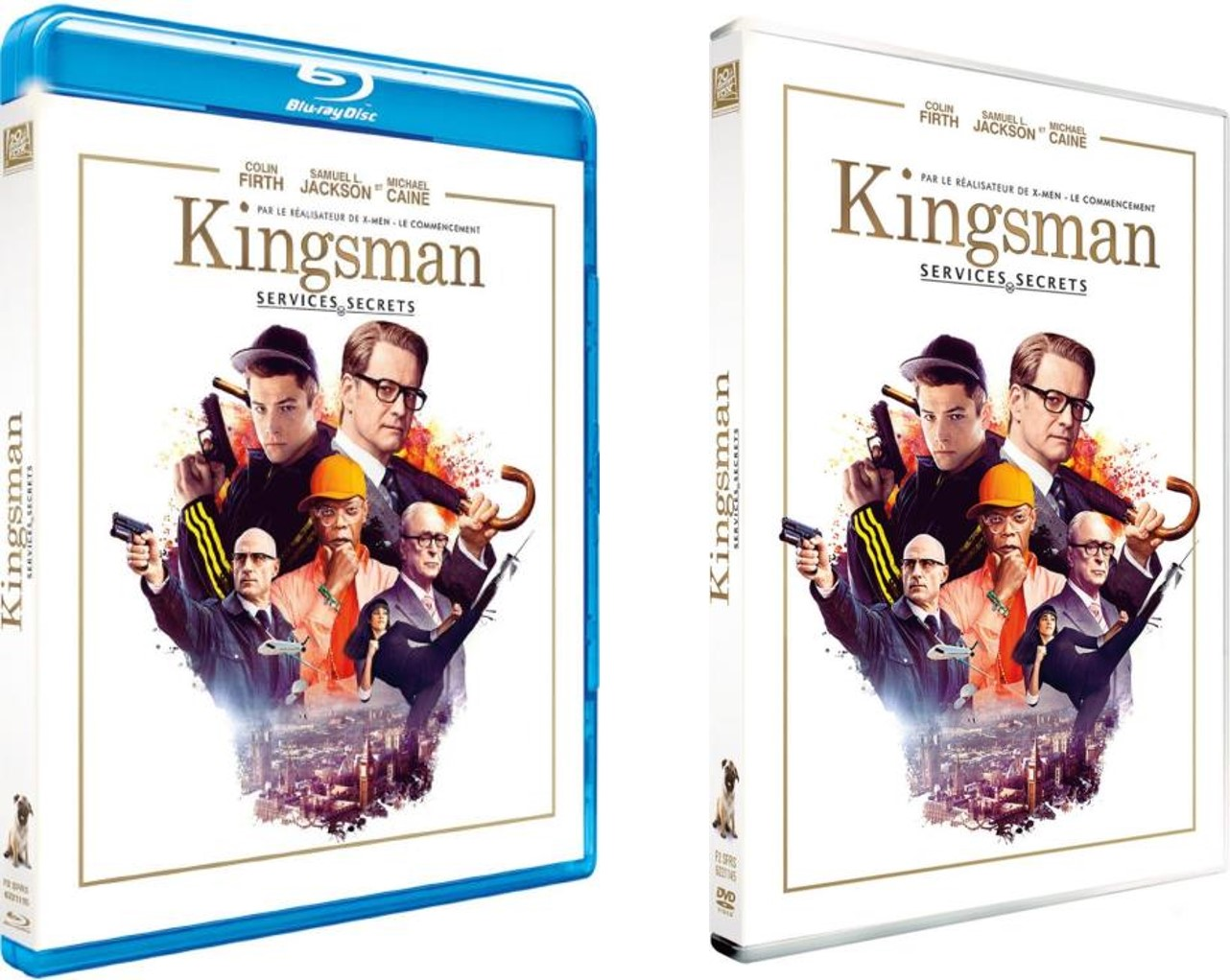 KINGSMAN SERVICES SECRETS - Visuel Sortie Blu-ray DVD France Matthew Vaughn Colin Firth - Go with the Blog