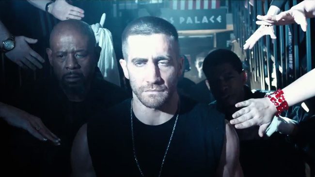 LA RAGE AU VENTRE - Image 2 du film SOUTHPAW Jake Gyllenhaal SND Films 2015 - Go with the Blog