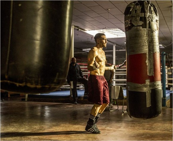 LA RAGE AU VENTRE - Image 5 du film SOUTHPAW Jake Gyllenhaal SND Films 2015 - Go with the Blog
