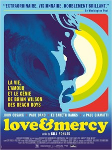 LOVE AND MERCY - Affiche FRANCE Brian Wilson Paul Dano Arp Selection - Go with the Blog