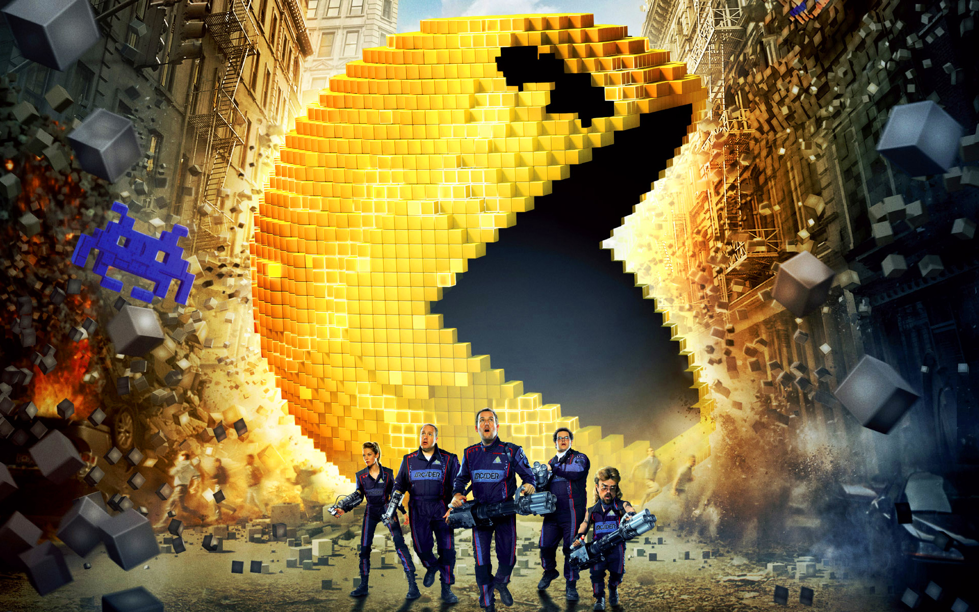 PIXELS - Image 2 du film France Chris Columbus - Go with the Blog