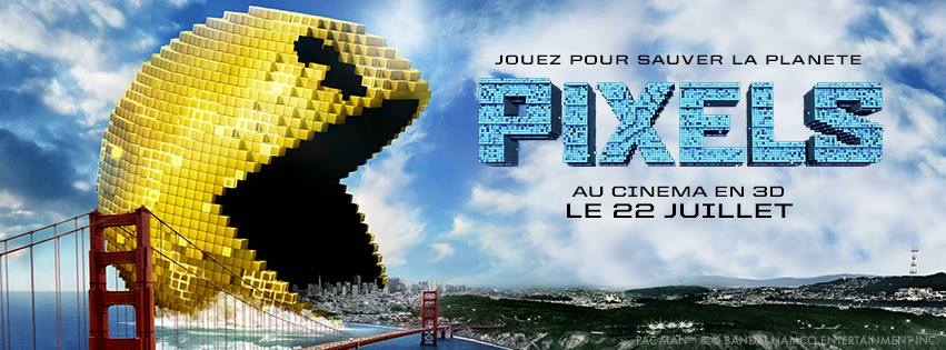 PIXELS - Image 3 du film France Chris Columbus - Go with the Blog