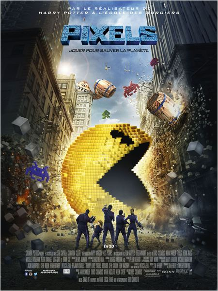 Pixels -Go with the Blog - Affiche