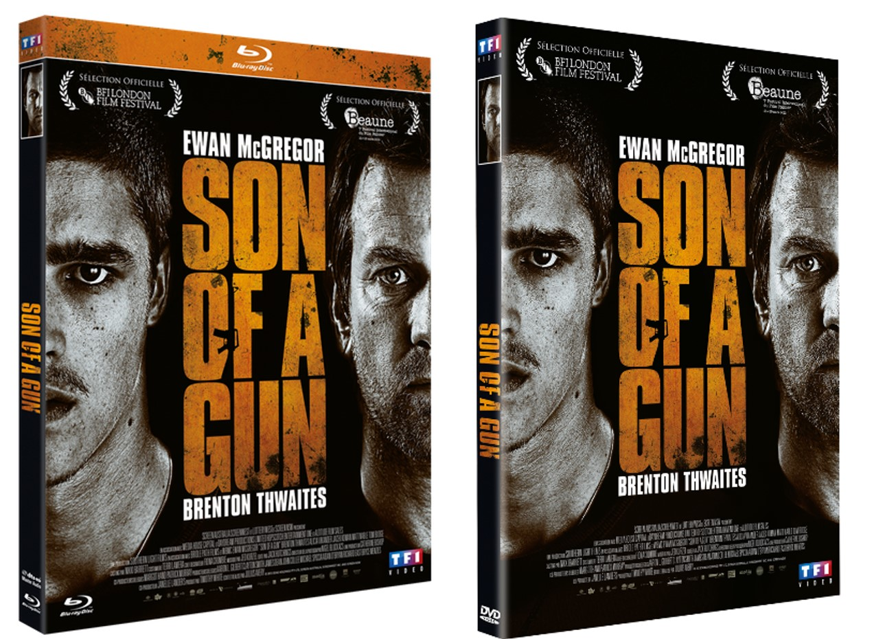 SON OF A GUN - Visuel Blu-ray et DVD FRANCE Jpeg sortie France Packshot 2015 Ewan McGregor - Go with the Blog
