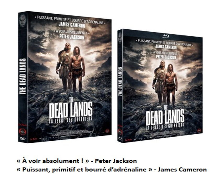 THE DEAD LANDS - Visuel Bluray DVD 3 sortie France the Jokers Films 2015 - Go with the Blog