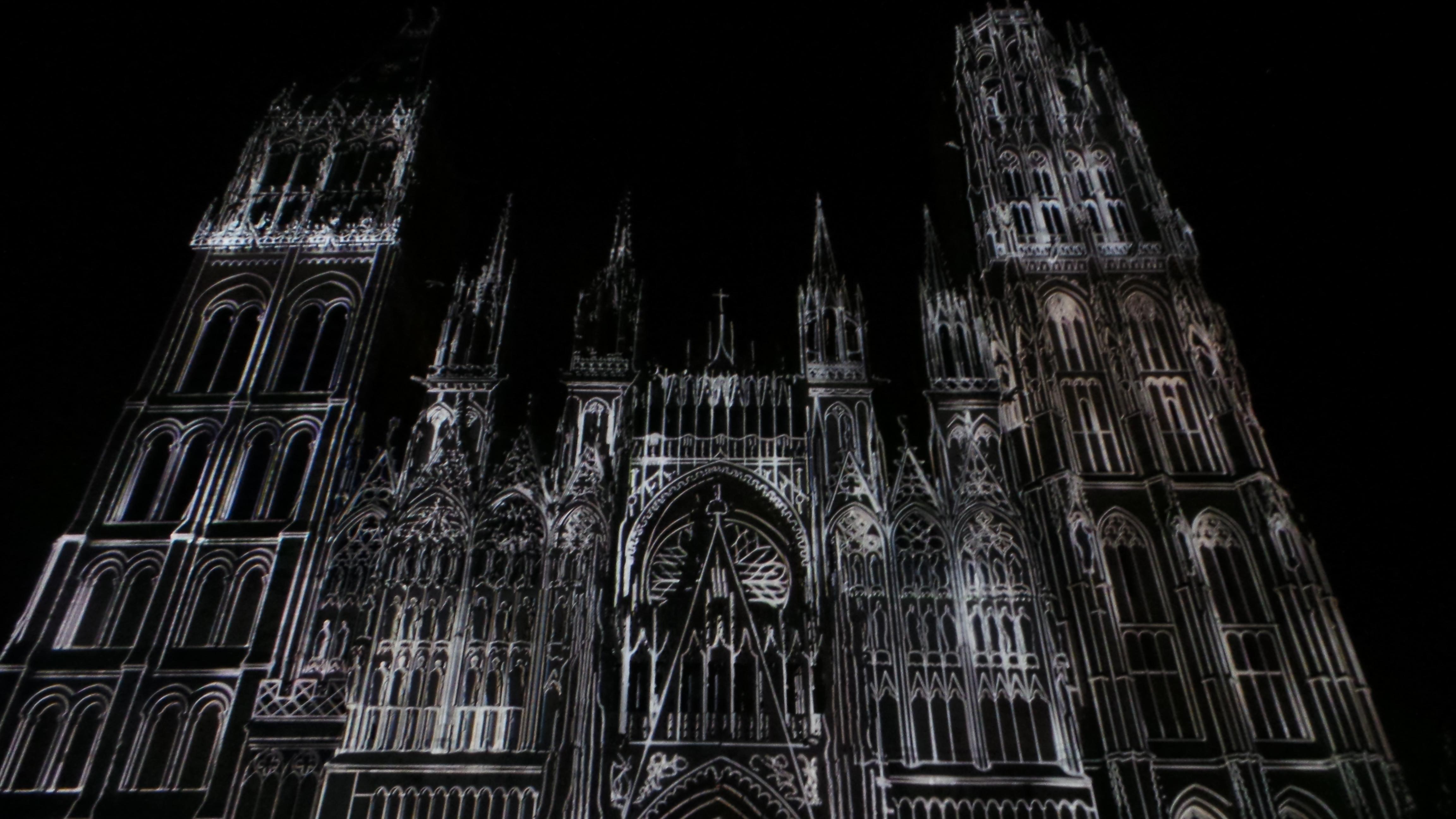 20150821_224314 - Cathedrale de Lmumière ROUEN 2015 Vikings Jeannes