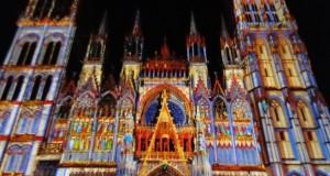 Rouen : la cathédrale revêt ses habits de lumière