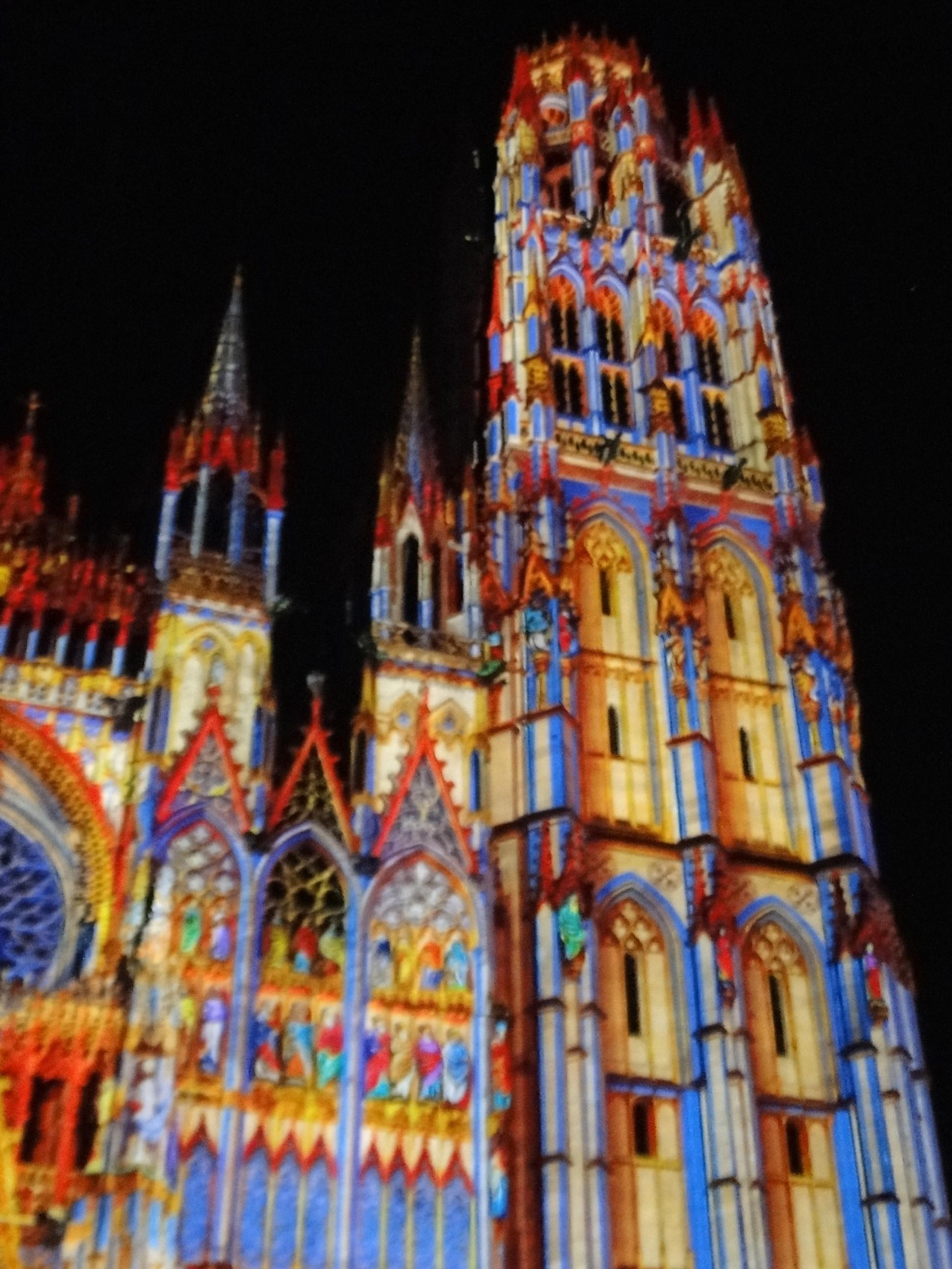 DSC06260 - Cathedrale de Lmumière ROUEN 2015 Vikings Jeannes