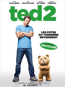 TED 2 - affiche du film Whalberg McFarlane - Go with the Blog