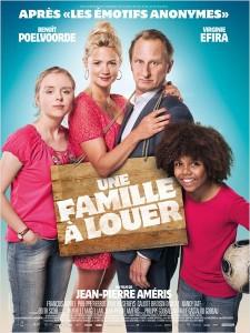 une famille à louer - go with the blog - affiche