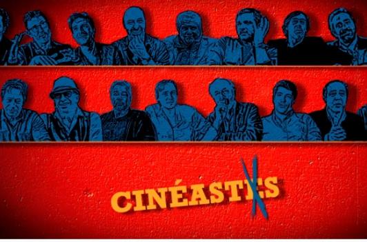 CINÉASTES 2015 - Visuel Affiche Julie Gayet Mathieu Busson les réalisateurs Ciné+ Émotion - Go with the Blog