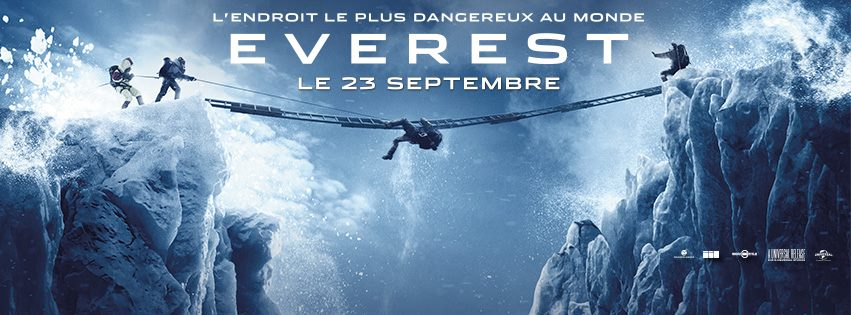 EVEREST - Bandeau large Facebook film 2015 Universal Pictures France - Go with the Blog