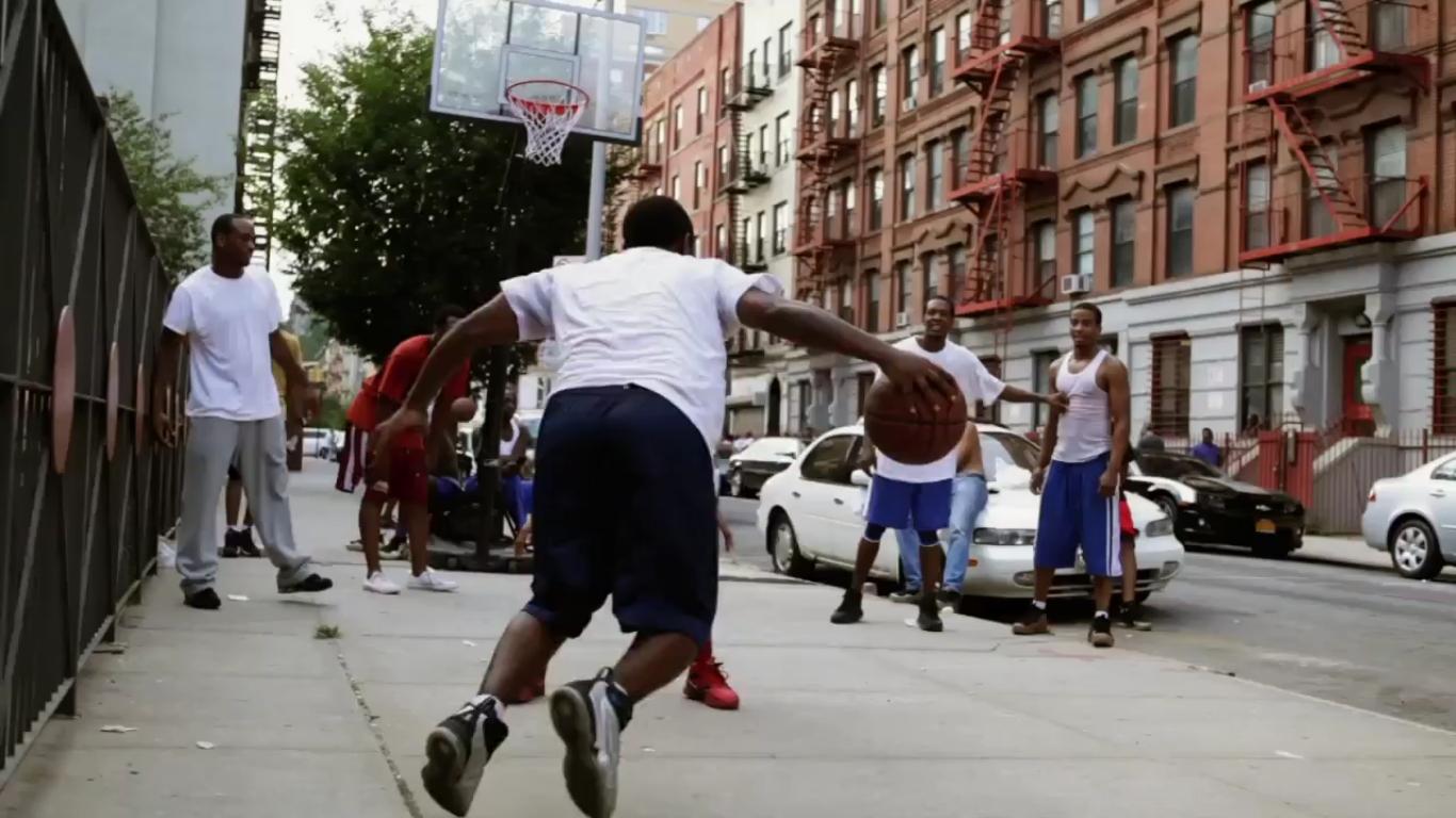 Parquet Basketball Playground - Basket 7