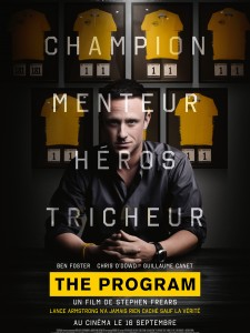 THE PROGRAM - Stephen Frears affiche France alternative - Go with the Blog