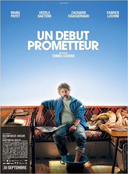 UN DÉBUT PROMETTEUR - Affiche du film Emma Luchini Nicolas Rey - Go with the Blog