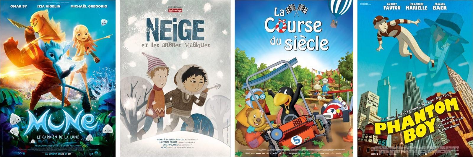 Cinéma Animation Jeune Public - Dossier spécial 2015 Go with the Blog Mune Petit Corbeau Phantom Boy Arbres Magiques