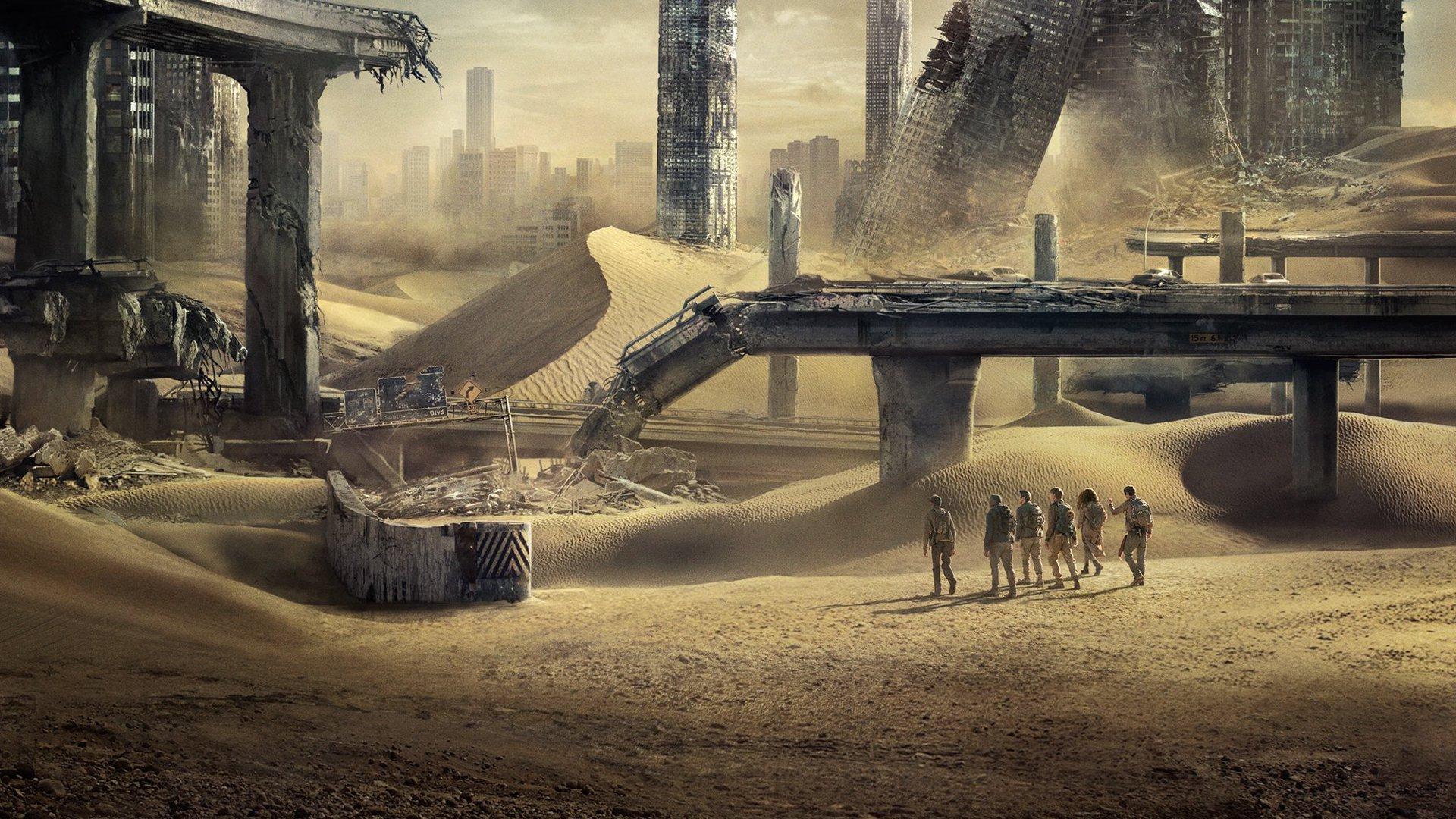 LE LABYRINTHE LA TERRE BRÛLÉE - Image du film 2 Desert - Go with the Blog