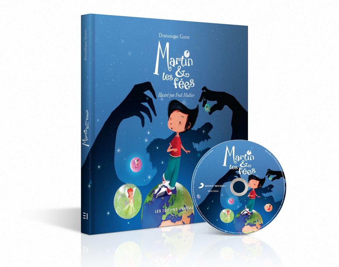 MARTIN ET LES FÉES - Visuel Livre Illustré CD musique 3 - Go with the Blog