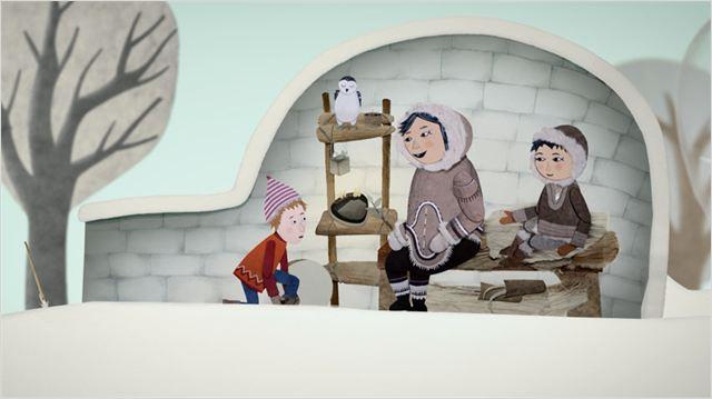 NEIGE ET LES ARBRES MAGIQUES - Image 1 du film animation jeune public Folimage - Go with the Blog