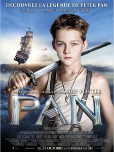 PAN - Affiche France du film Joe Wright 2015 - Go with the Blog