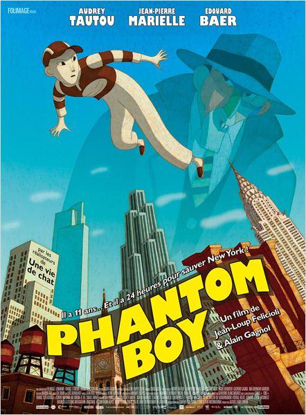 Phantom Boy - Go with the Blog - Affiche