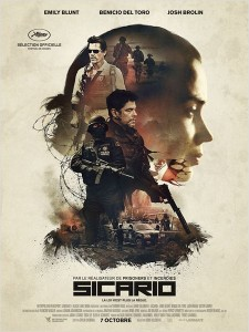 SICARIO - Affiche du film France Benecio del Toro Emily Blunt 2015 - Go with the Blog