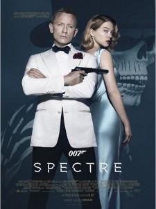 SPECTRE - 007 Affiche du film Daniel Craig Léa Seydoux Dia de los muertos - Go with the Blog