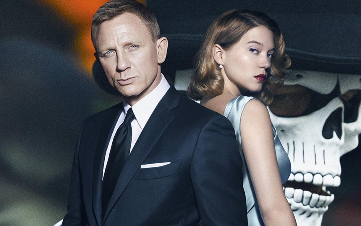 SPECTRE - 007 Image du film 1 Daniel Craig Léa Seydoux Dia de los muertos - Go with the Blog
