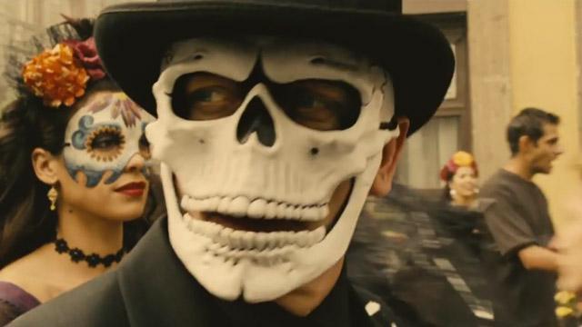SPECTRE - 007 Image du film 4 Daniel Craig Sigman Dia de los muertos - Go with the Blog