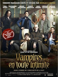 VAMPIRES EN TOUTE INTIMITÉ - Affiche France du film Nicolas et Bruno - Go with the Blog
