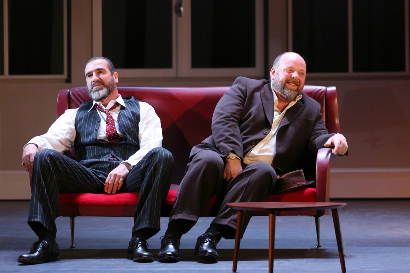 VICTOR - Image 2 Théâtre Hébertot Paris Octobre 2015 Gadebois Cantona - Go with the Blog