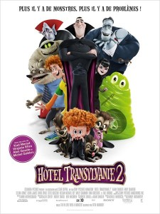 HÔTEL TRANSYLVANIE 2 - Affiche France film 2015 Sony Pictures - Go with the Blog