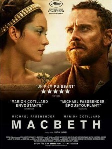 MACBETH - affiche F définitive Marion Cotillard Michael Fassbender - Go with the Blog