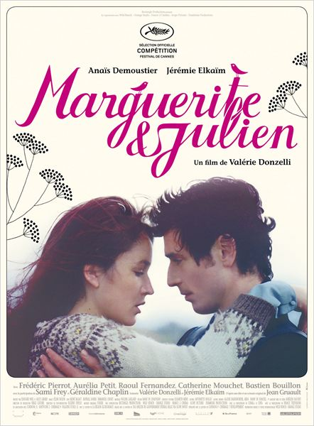 MARGUERITE ET JULIEN - affiche du film Valérie Donzelli 2015 - Go with the Blog