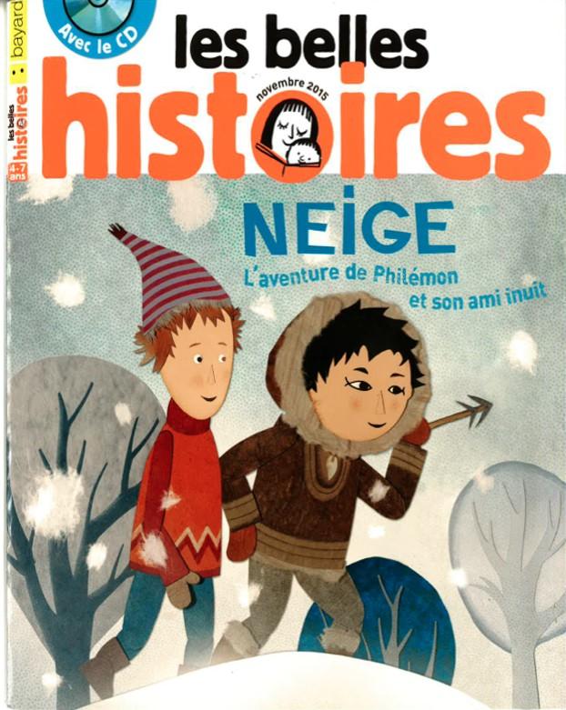 NEIGE ET LES ARBRES MAGIQUES - Visuel 2 Magazine LES BELLES HISTOIRES Folimage - Go with the Blog