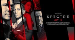 De superbes artworks hommage à SPECTRE par le collectif Poster Posse