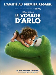 le voyage d'arlo - go with the blog - affiche